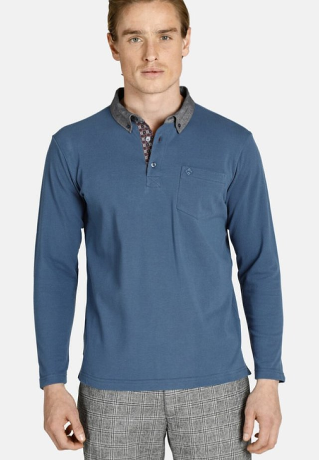 RELAXED FIT - Polo shirt - blue