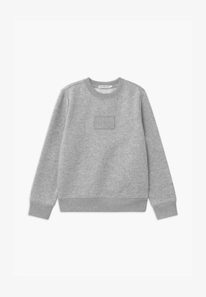 REFLECTIVE BADGE - Sweatshirt - grey