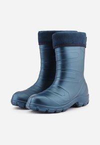 Ladeheid - Regenlaarzen - metall blue/navy - 5