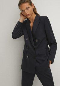 Massimo Dutti - Blazer - blue-black denim - 3
