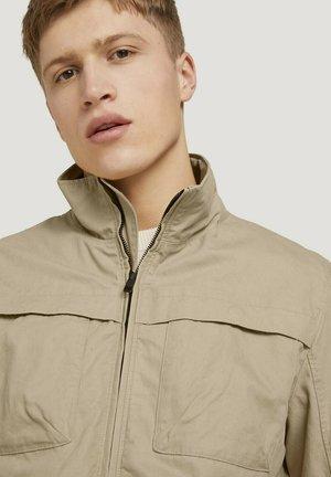 Summer jacket - smoked beige