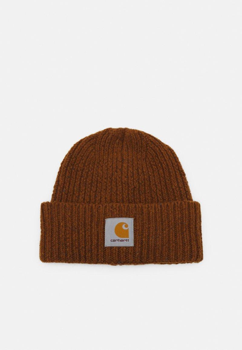 Carhartt WIP - ANGLISTIC BEANIE UNISEX - Adīta cepure - speckled tawny