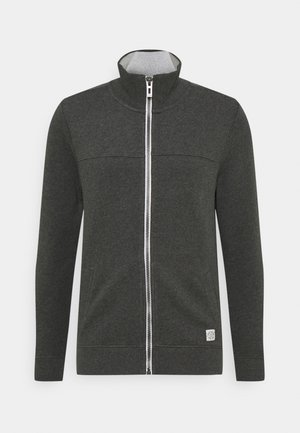 WITH CUTLINE - Sweatjakke /Træningstrøjer - dark grey melange