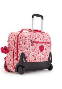 Kipling - School bag - pink leaves - 2