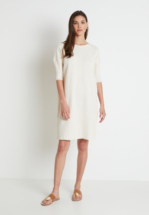 KYLIE DRESS - Jumper dress - white swan