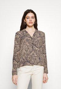 Vero Moda - VMGEA - Skjorte - brown - 0