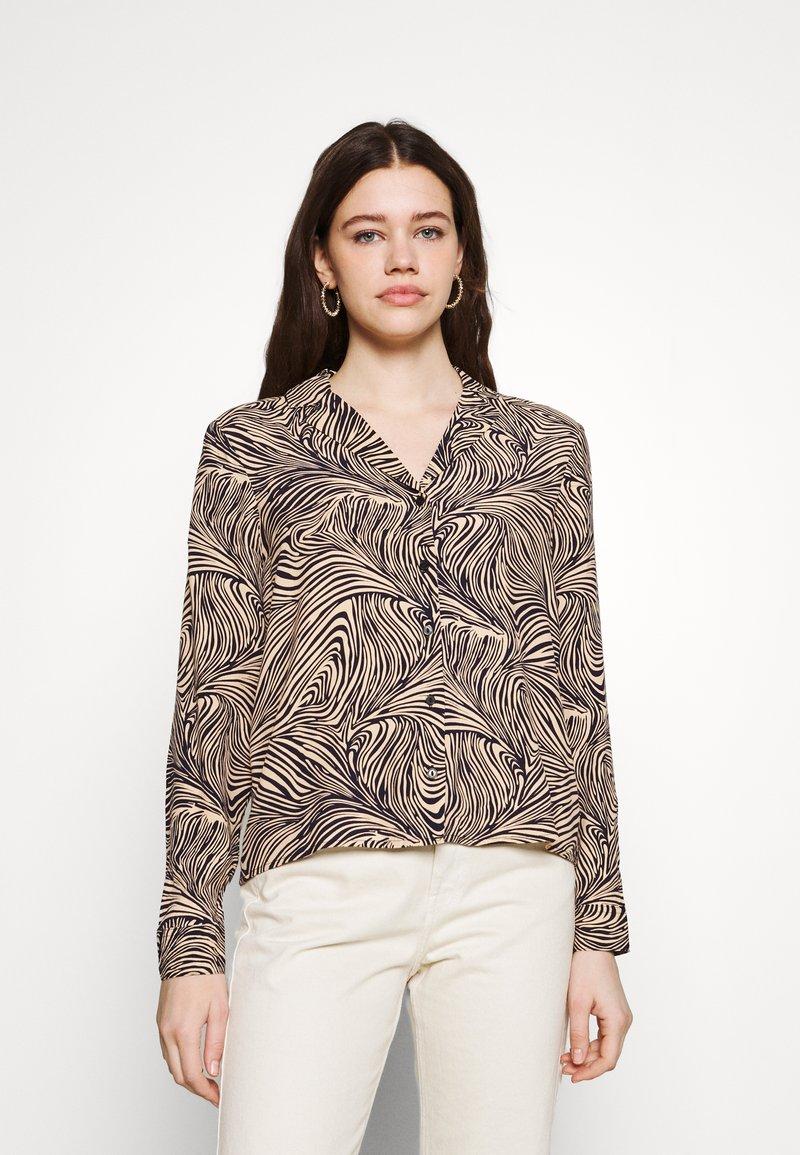 Vero Moda - VMGEA - Skjorte - brown