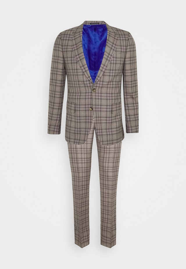 GENTS TAILORED FIT BUTTON SUIT - Suit - beige