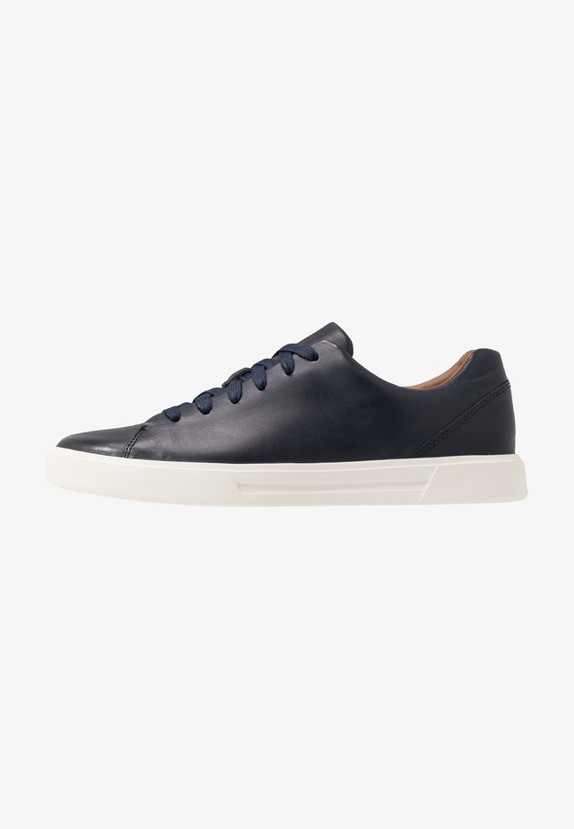 UN COSTA LACE - Baskets basses - navy