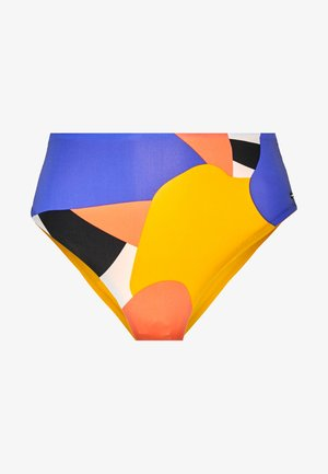 ZANTA BOTTOM - Bikini bottoms - yellow/red