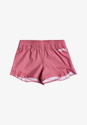 SMILE IS LOVE - Swimming shorts - desert rose