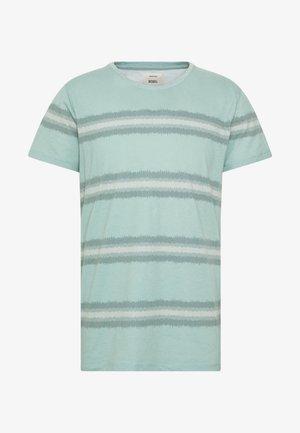 THOMAS TEE - T-shirt med print - duck green