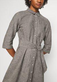 Opus - WUTA - Shirt dress - black - 5
