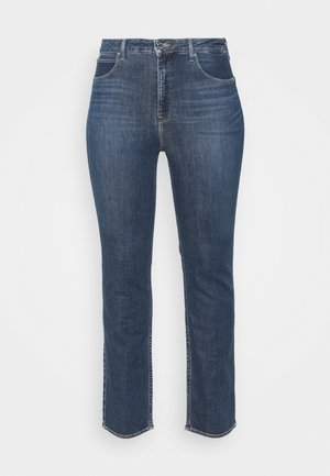 CLASSIC - Jeansy Straight Leg - dark-blue denim