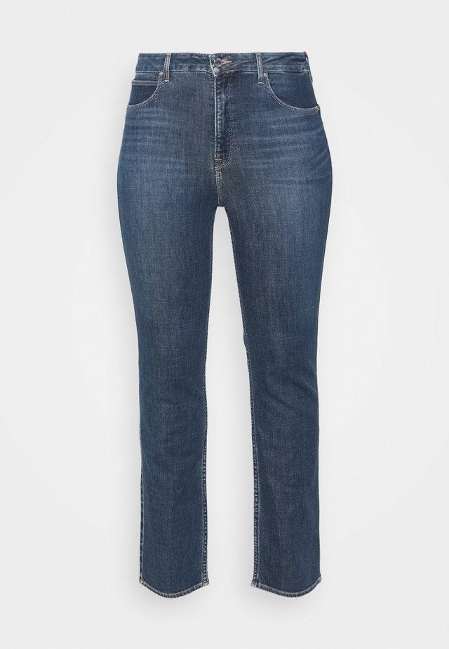 CLASSIC - Straight leg -farkut - dark-blue denim