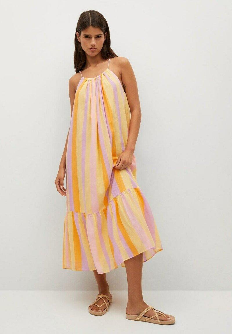 Mango - Vapaa-ajan mekko - yellow