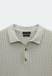 Massimo Dutti - Polo shirt - light grey - 5