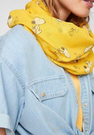 Snood - yellow aop