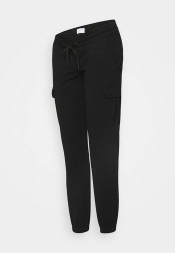 MLMARIE JERSEY PANTS - Tracksuit bottoms - black
