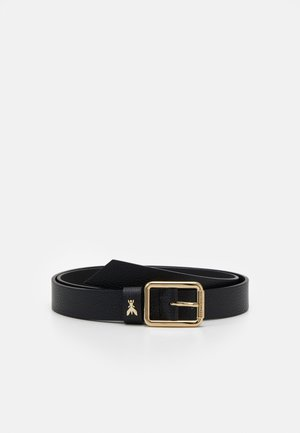 BASIC BELT - Belt - nero/gold-coloured