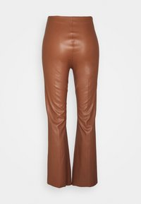 Soaked in Luxury - KAYLEE KICKFLARE PANTS - Broek - rubber - 2