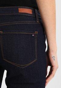 Tommy Hilfiger - ROME CHRISSY - Straight leg jeans - dark-blue denim - 4