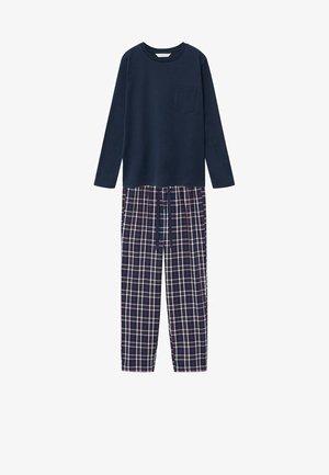 LUIGI - Nattøj sæt - dunkles marineblau