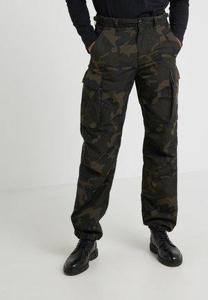 BRIGADE PANT RIPSTOP WOODLAND  - Pantaloni cargo - olive/brown