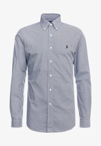 Polo Ralph Lauren - NATURAL SLIM FIT - Shirt - black/white - 3