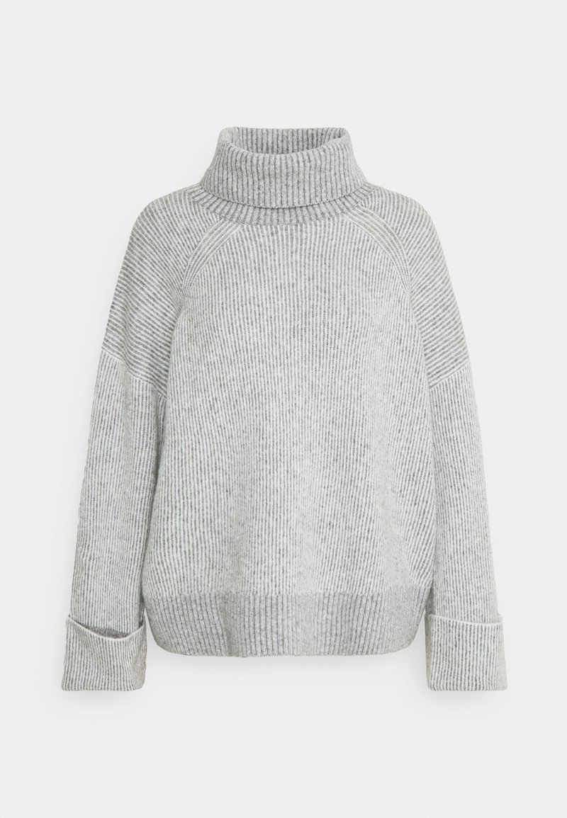 Esprit - ROLLNECK VANIS - Jumper - light grey
