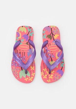 FLORES - Pool shoes - pink porcelain