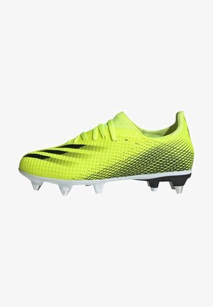 X GHOSTED.3 SG FUTBALLSCHUH - Moulded stud football boots - yellow