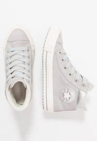 Converse - CHUCK TAYLOR ALL STAR BOOT - Vysoké tenisky - ash grey/pure silver/egret - 1