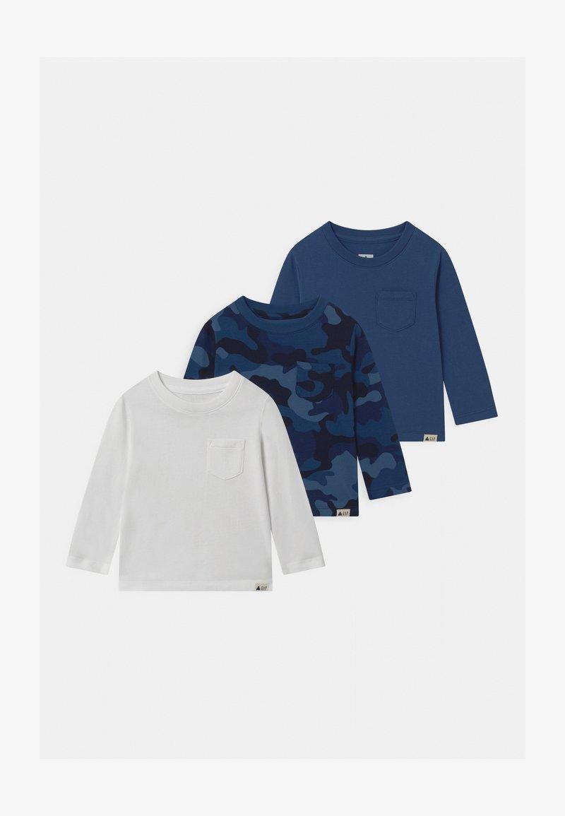 GAP - TODDLER BOY 3 PACK - Longsleeve - blue