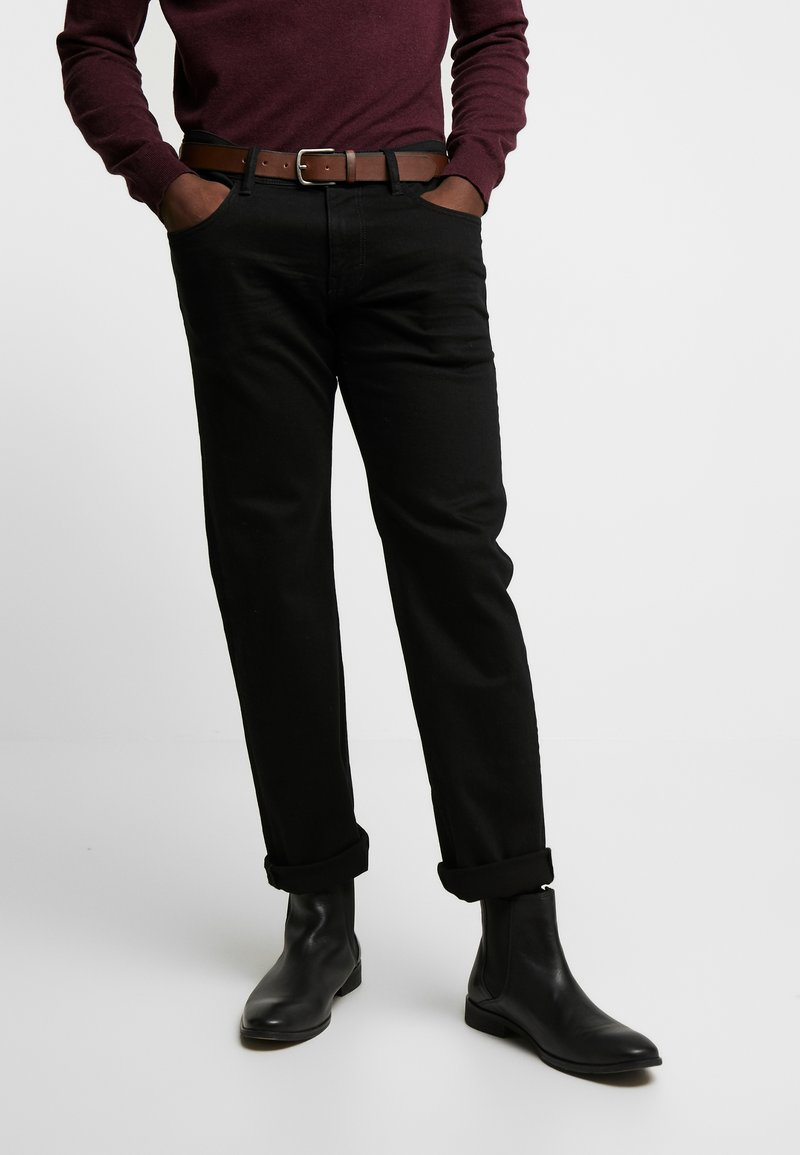 Esprit - Jeansy Slim Fit - black rinse