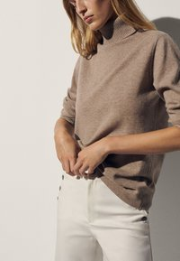 Massimo Dutti - Sweter - brown - 0