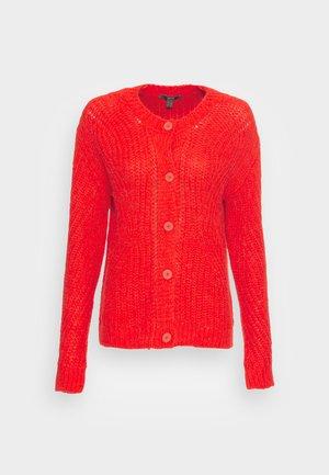 CARDIGAN - Cardigan - orange red