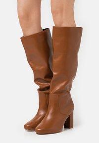RAID - DILENI - High heeled boots - tan - 0