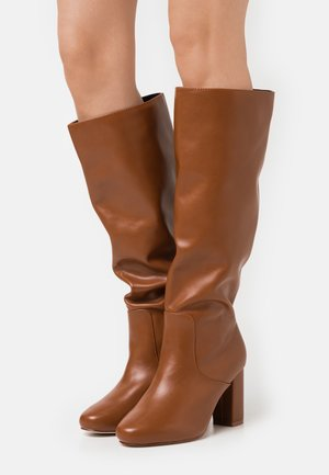 DILENI - High heeled boots - tan