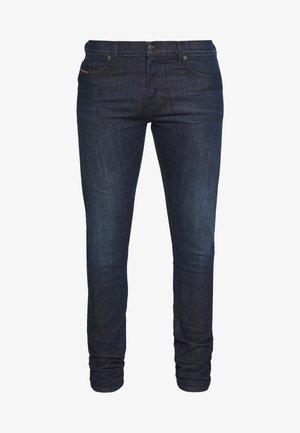 D-LUSTER - Slim fit jeans - dark-blue denim
