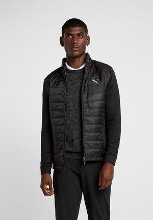 QUILTED PRIMALOFT JACKET - Outdoorová bunda - black
