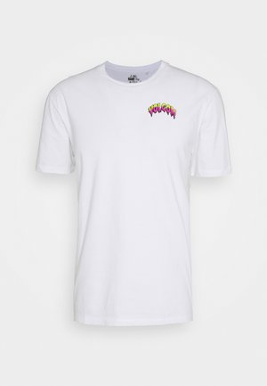 MICHAEL WALRAVE  - Print T-shirt - white