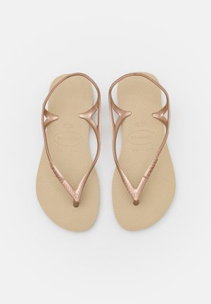 SUNNY - Pool shoes - sand/grey