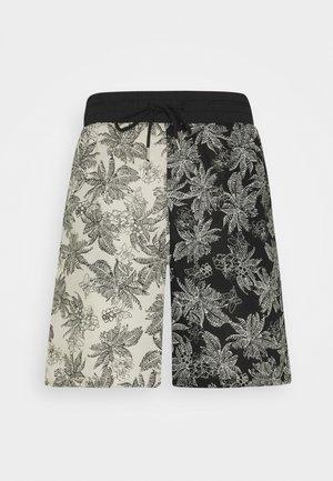 TROPICAL - Shorts - black/white