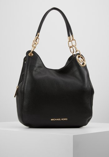 LILLIE CHAIN TOTESMALL - Handbag - black
