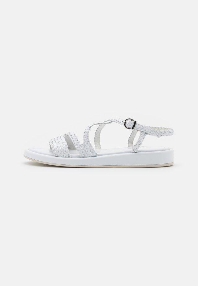 RAME - Sandaalit nilkkaremmillä - bianco