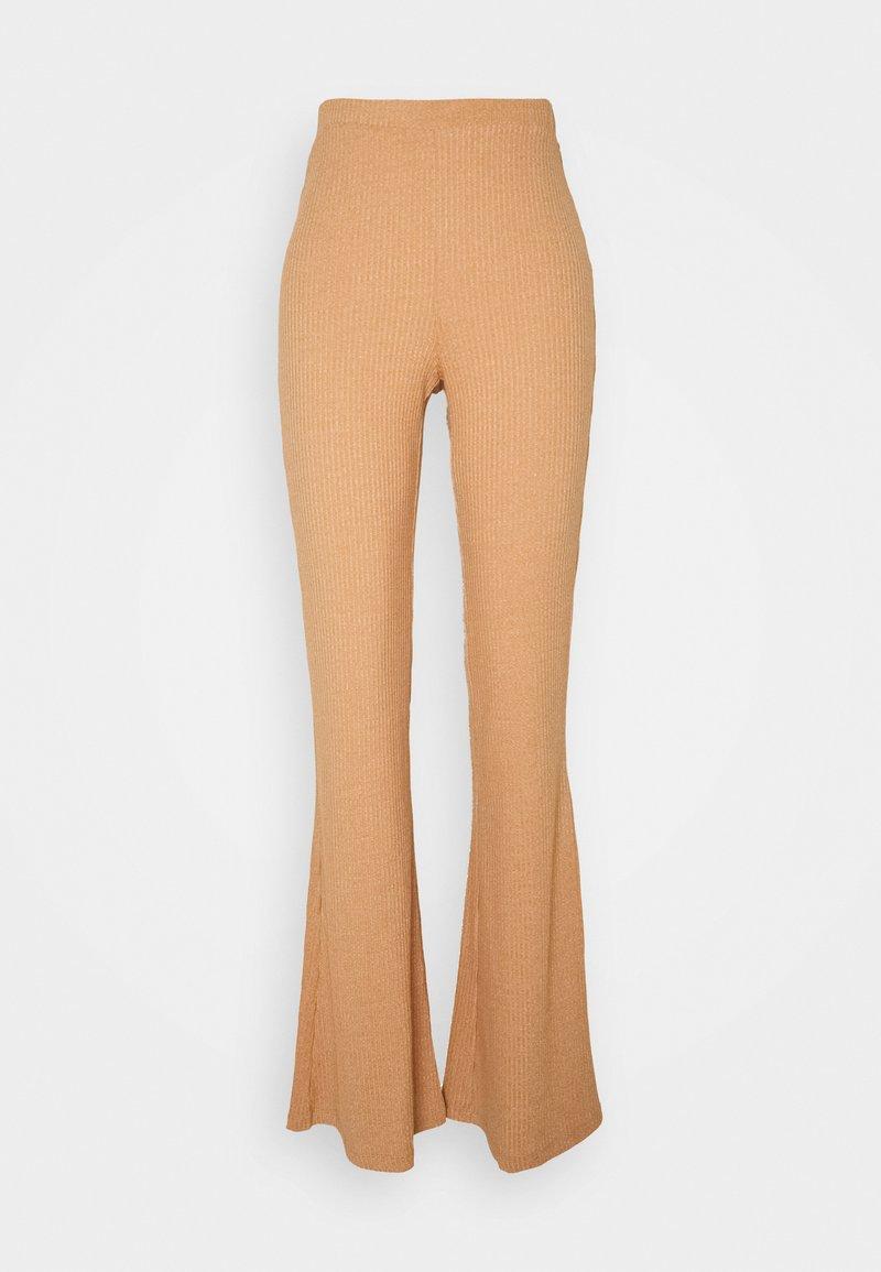 Fashion Union Petite - FENNEL TROUSER - Broek - beige space dye