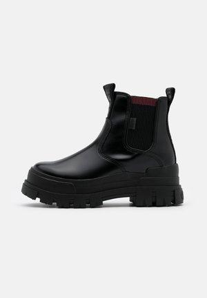 VEGAN ASPHA CHELSEA - Kotníková obuv - black