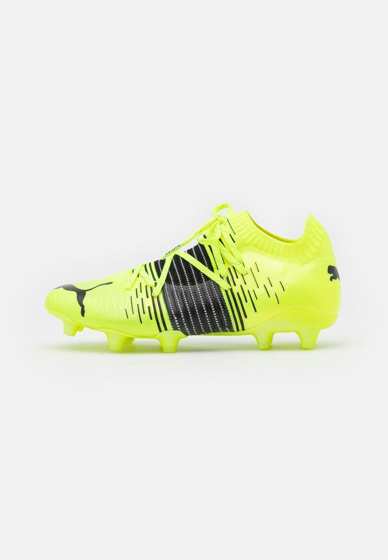 Puma - FUTURE Z 1.1 FG/AG - Fotbollsskor fasta dobbar - yellow aler/black/white