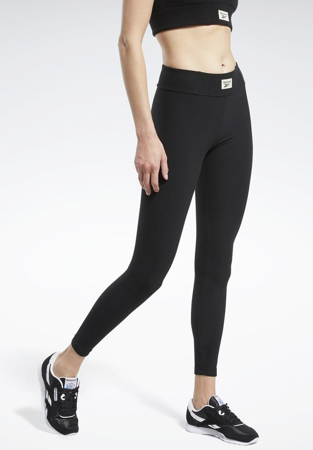 CLASSICS WINTER ESCAPE LEGGINGS - Leggings - Trousers - black